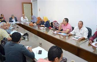 جامعة سوهاج تستعد لإجراء انتخابات الاتحادات الطلابية غدا | صور