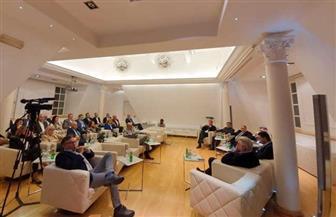سفارة مصر في بلجراد تنظم مائدة مستديرة للترويج للمشاركة في منتدى الاستثمار من أجل إفريقيا | صور