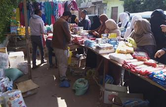 تنيظم قافلة لمحاربة الغلاء بقرية الحصفة بمركز الرياض| صور