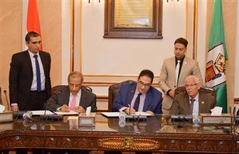 بروتوكول تعاون بين جامعة القاهرة ووكالة الفضاء المصرية | صور