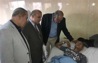 سقوط مدير مدرسة من أعلى سطحها وإصابة طالب في مشاجرة مع زميله بالدقهلية