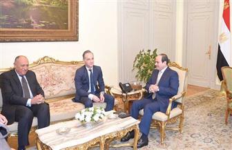 الرئيس السيسي يؤكد الاهتمام بالاستفادة من الخبرات والتكنولوجيا الألمانية لتوطين الصناعة بمصر