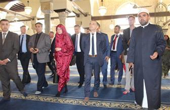وزير خارجية ألمانيا يزور الجامع الأزهر