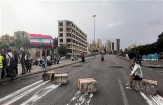 قطع عدد من الطرقات في بيروت احتجاجاً على استقالة الحريري