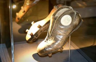 """حذاء العربي بن مبارك في معرض """"كرة القدم والعالم العربي"""""""