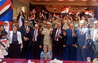 مدير تعليم الجيزة يشهد احتفالات انتصارات السادس من أكتوبر | صور