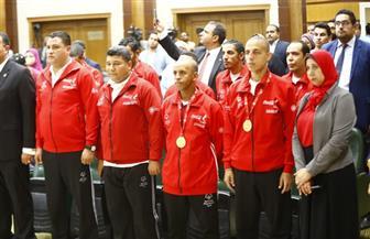 """""""التضامن"""" تكرم أعضاء البعثة المصرية للأوليمبياد الخاص"""