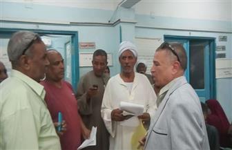رئيس مدينة إدفو يتفقد المستشفى العام استجابة لشكاوى المواطنين  | صور