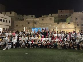 انتقاء أبرز العناصر في جولة لجنة الكرة النسائية في المنيا | صور
