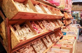 حملات تفتيشية على شوادر حلوى المولد النبوي في الأزبكية