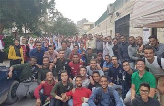 انطلاق ماراثون انتخابات الاتحادات الطلابية بجامعة عين شمس  صور