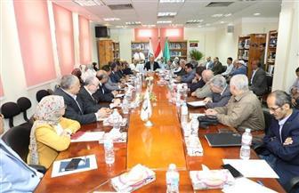 محافـظ المنوفية يترأس اجتماع المجلس الإقليمي للصحة بمعهد الكبد القومى بشبين الكوم