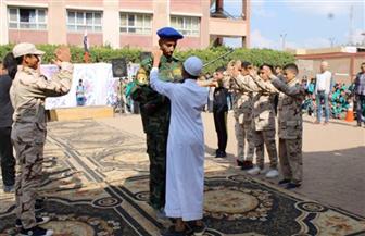 تلاميذ مدرسة بكفر الشيخ يستعرضون تاريخ مصر الحديث | فيديو وصور
