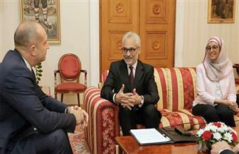 رئيس بلغاريا يستقبل سفير مصر في صوفيا | صور