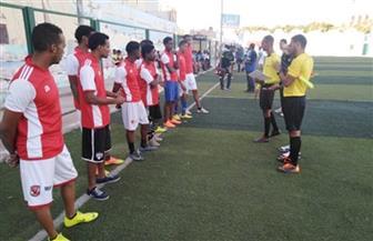 انطلاق دوري مراكز الشباب لكرة القدم بأسوان