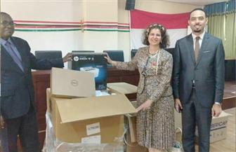 الوكالة المصرية للشراكة من أجل التنمية تقدم مساعدات لوجيستية دعما للانتخابات العامة فى بوروندي   صور