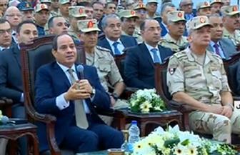 """الرئيس السيسي لـ""""نواب الشعب"""": قوموا بدوركم وراقبوا أداء الحكومة"""