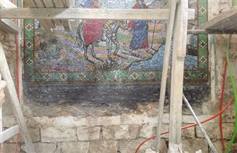 بدء أعمال صيانة وترميم الكنيسة الأثرية بجبل الطير بالمنيا