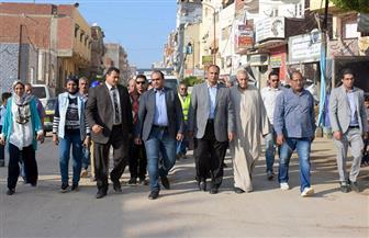 نائب محافظ الإسكندرية يتفقد عزبة محسن لبدء تطوريها| صور