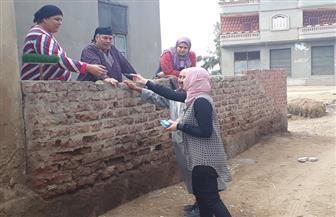 حملات للتوعية بترشيد استهلاك المياه بالدقهلية| صور