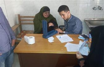 قافلة طبية علاجية لعلاج 985 مريضا بقرية ٦٢ الخاشعة في كفر الشيخ
