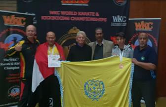تكريم لاعبي الإسماعيلي لحصولهما على ميداليات في بطولة العالم للكيك بوكس