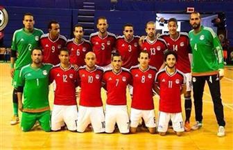 مصر تفوز على الجزائر في بطولة التسامح لكرة الصالات
