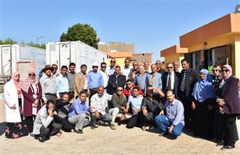 وفد يمني يزور شركة مياه الأقصر | صور
