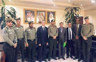قنصل مصر في الرياض يزور المنطقة الشرقية.. ويلتقي كبار المسئولين بالجوازات والوافدين | صور