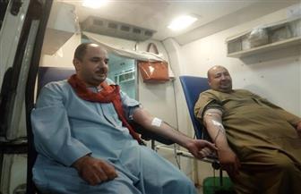 مبادرة للتبرع بالدم في طهطا وجرجا لمصلحة مرضى سرطان الأطفال | صور