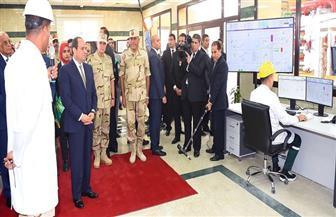 تفاصيل افتتاح الرئيس السيسي لمصنعي الغازات الطبية والصناعية وفوق أكسيد الهيدروجين بأبو رواش| صور