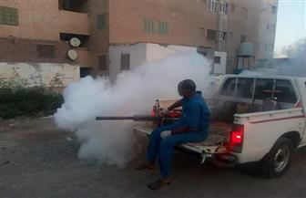 مسح 956 خزان مياه خلال حملة لمكافحة الأمراض المتوطنة بالبحر الأحمر | صور