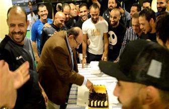 المقاولون العرب يحتفل بعيد ميلاد محمد عادل | صور