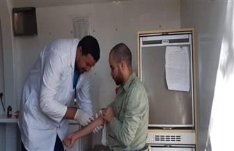 صحة الجيزة: الكشف على 1630 حالة بقافلة طبية في كرداسة | صور