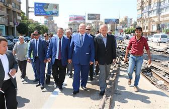 محافظ القاهرة يتفقد تطوير وتوسعة شارع الحجاز في مصر الجديدة والنزهة| صور