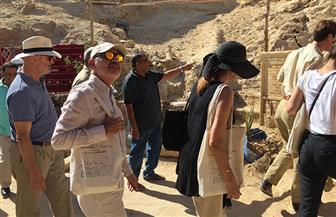 رئيس جهاز التنسيق الحضاري يتفقد قلعة شالي في سيوة بمرسى مطروح| صور