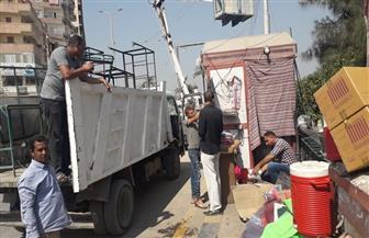 إزالة 471 حالة إشغال في حملة بعدد من شوارع بني سويف | صور