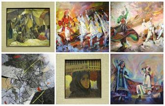 الصوفية والحب والشجن بريشة 25 فنان مصري وعالمي في قاعة «آزاد» الجديدة |صور