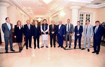 رئيس وزراء باكستان يستقبل وفد رجال أعمال مصري لبناني