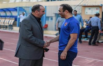مدير أمن أسوان يحضر مران الأهلي