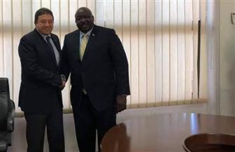 سفير مصر في أوغندا يلتقي بوزير الشئون الخارجية الأوغندي