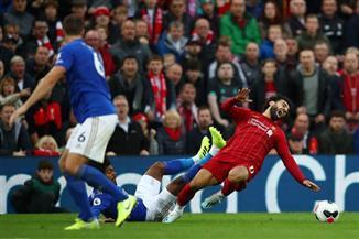 قلق بين جماهير ليفربول من إصابة صلاح في الكاحل الأيسر