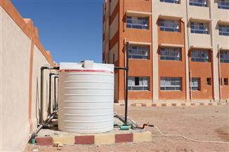 """رئيس """"مياه البحر الأحمر"""": استمرار توصيل خدمة مياه الشرب لعدد من المدارس بتكلفة 2 مليون جنيه"""