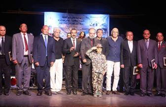 تكريم أبطال حرب أكتوبر فى احتفال القومى للمسرح بذكرى النصر| صور