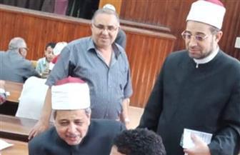 رئيس قطاع المعاهد الأزهرية يزور لجان امتحان الشفوي لمسابقة القبول بمعاهد القراءات