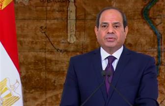 الرئيس السيسي يقدم التحية للسادات والشهداء.. ويؤكد:عاقدون العزم لمواصلة المسيرة