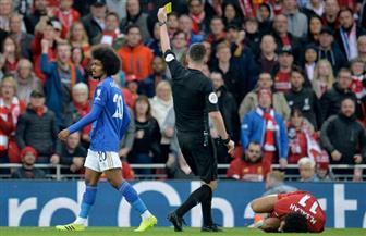 """البطاقة الصفراء لا ترضي مدرب ليفربول """"الغاضب"""" من إصابة محمد صلاح"""
