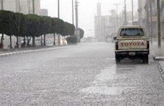 أمطار بمركز أبو تشت ببداية موسم السيول الخريفية في قنا