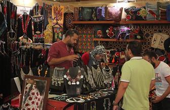 """""""التخطيط"""" و""""الهجرة"""" تؤكدان أهمية معرض تراثنا لتسويق منتجات الشباب"""