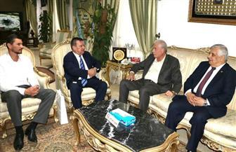 محافظ جنوب سيناء يستقبل سفير دولة أوكرانيا | صور